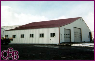 Quality steel buildings pole barns post frame metal for Metal shop with apartment