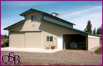 Quality steel buildings pole barns post frame metal Metal building apartments
